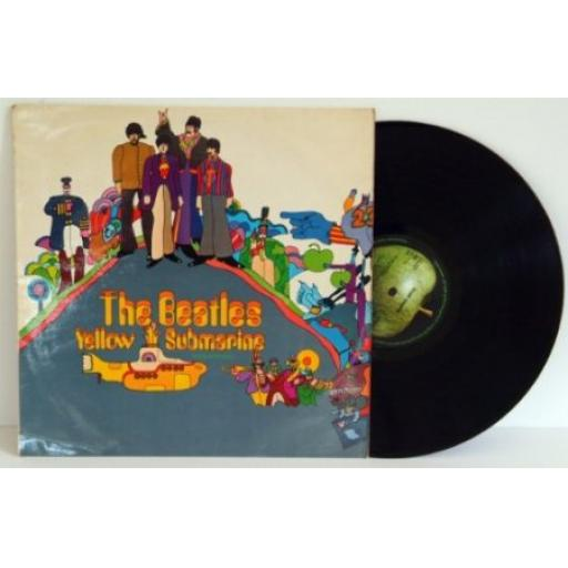 THE BEATLES, Yellow Submarine. UK pressing 1967.