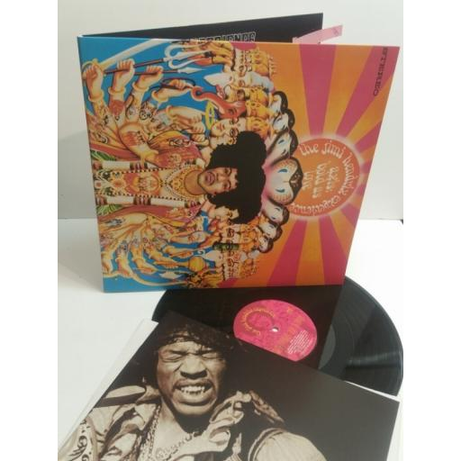 "JIMI HENDRIX axis bold as love MCA-11601 Includes 8-page 10"" size booklet."
