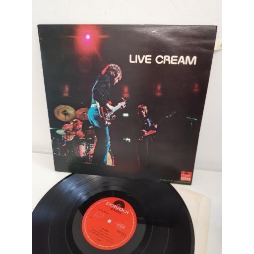 CREAM live cream, stereo, 2383 016