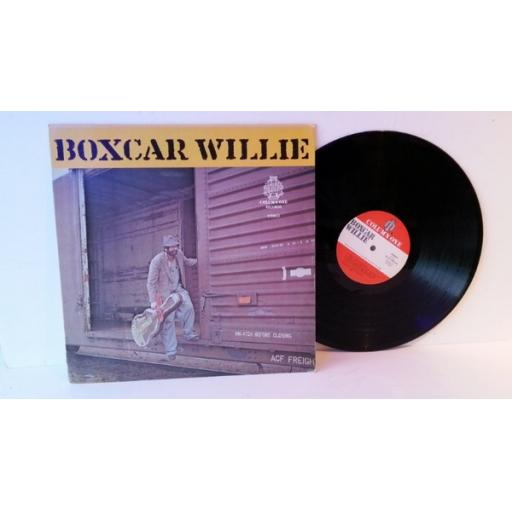 "BOXCAR WILLIE, Unofficial title ""unlatch before opening"""
