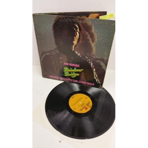 JIMI HENDRIX rainbow bridge - original motion picture soundtrack, gatefold, MS 2040