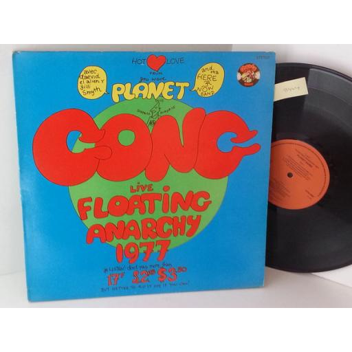 PLANET GONG live floating anarchy 1977, CRM 2000.