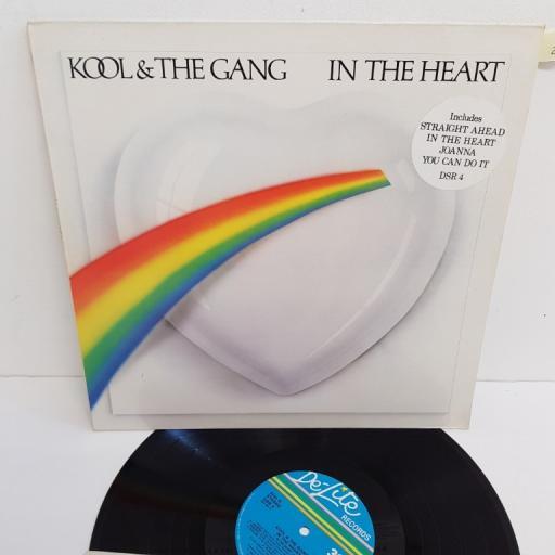 "KOOL & THE GANG, in the heart, DSR 4, 12"" LP"