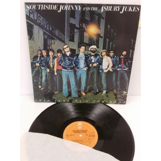 SOUTHSIDE JOHNNY AND THE ASBURY JUKES this time it's for real, EPC 81909