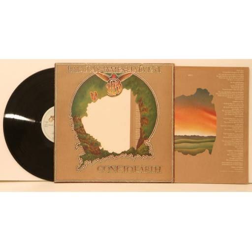 BARCLAY JAMES HARVEST gone to earth Die-cut sleeve and inner lyric sleeve. Fi...