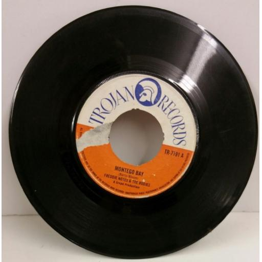 FREDDIE NOTES & THE RUDIES / THE RUDIES montego bay / blue mountain, 7 inch single, TR 7791