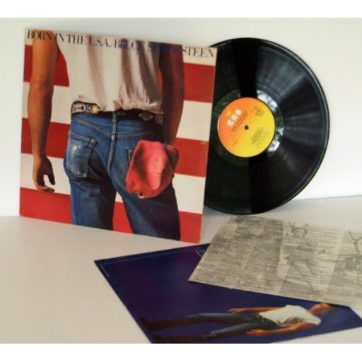 BRUCE SPRINGTEEN born in the USA. First Uk press 1984. Matrix A-1, B-1 . On C...