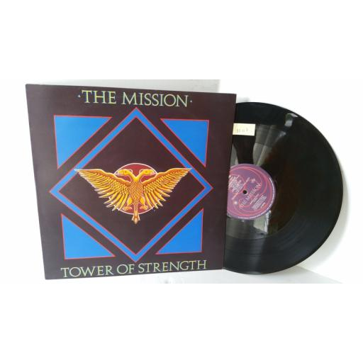 THE MISSION tower of strength, 12 inch single, MYTHX 4