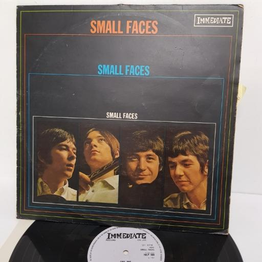 "SMALL FACES, small faces, IMLP 008, 12"" LP"