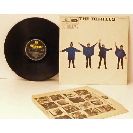 The Beatles HELP mono, black yellow.HELP, PMC 1255