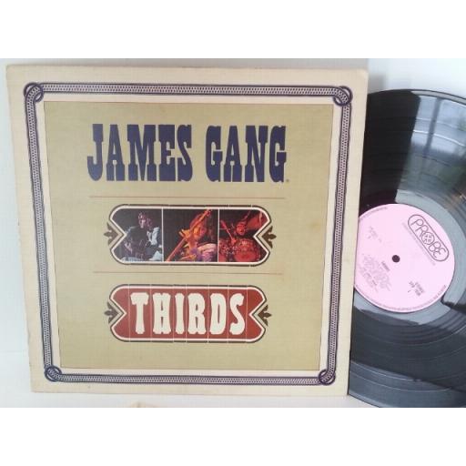 SOLD JAMES GANG thirds featuring joe walsh