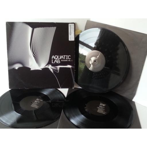 VARIOUS aquatic lab sessions volume 1, 3 x vinyl, LABLP001