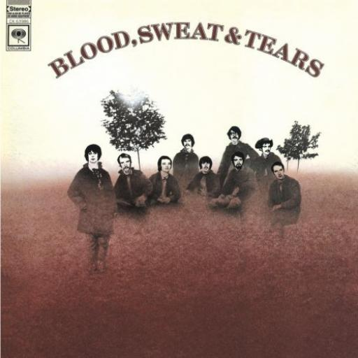 Blood Sweat & Tears BLOOD SWEAT & TEARS. First UK pressing on the solid orange CBS label, 1968