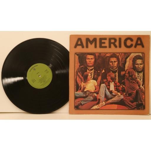 AMERICA, America. Great copy. Very rare.First UK pressing. 1971. Matrix.A3 PO...