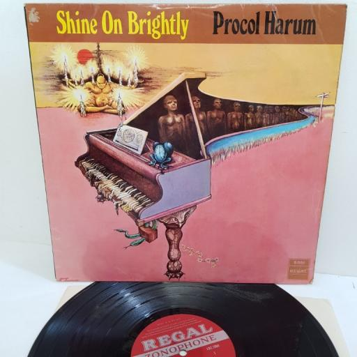 "PROCOL HARUM, shine on brightly, LRZ 1004, 12"" LP"
