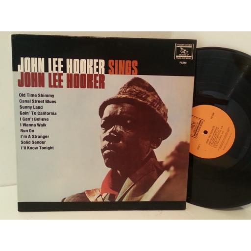 JOHN LEE HOOKER sings john lee hooker, FS-369