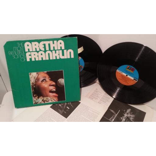 ARETHA FRANKLIN the most beautiful songs of aretha franklin, double album, ATL 60030