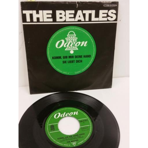THE BEATLES komm, gib mir deine hand, 7 inch single, 1C 006-04204