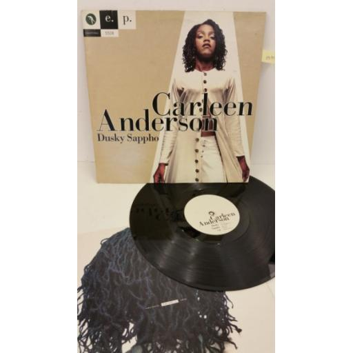 CARLEEN ANDERSON dusky sappho e.p, limited edition number: 5508, YRT 108