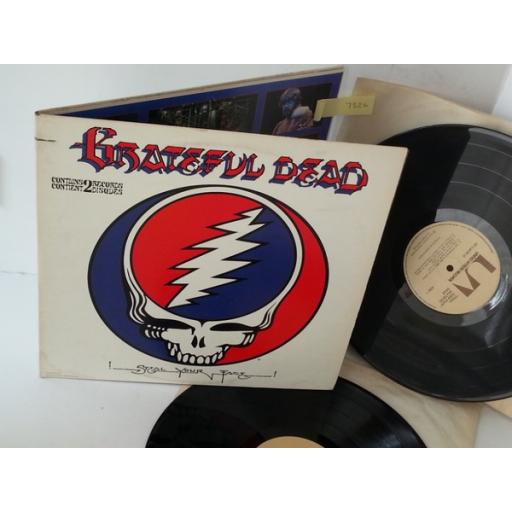 THE GRATEFUL DEAD steal your face, gatefold, double album, GD-LA620-J2