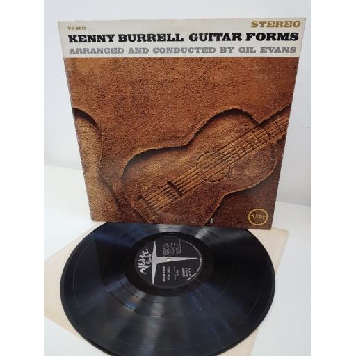 "KENNY BURRELL, Guitar Forms, V6-8612, 12"" LP"