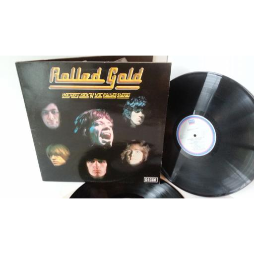 THE ROLLING STONES rolled gold, gatefold, double album, ROST 1/2