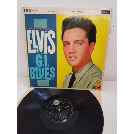 "ELVIS IN G.I. BLUES, (an original soundtrack recording), RD 27192, 12"" LP"