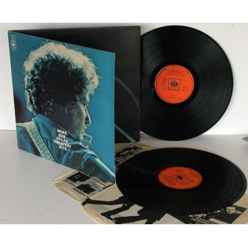 BOB DYLAN, More Bob Dylan greatest hits. Very rare. First UK pressing 1971. M...