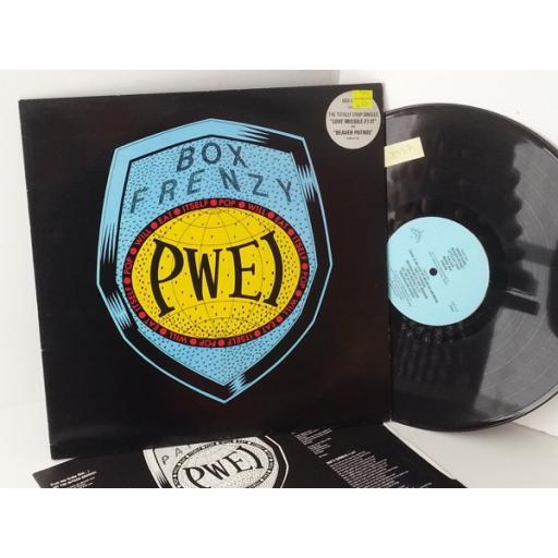 POP WILL EAT ITSELF box frenzy, CHAP LP 18