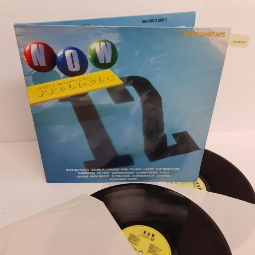 "NOW THAT'S WHAT I CALL MUSIC 12, NOW 12, 2X12"" LP, compilation"