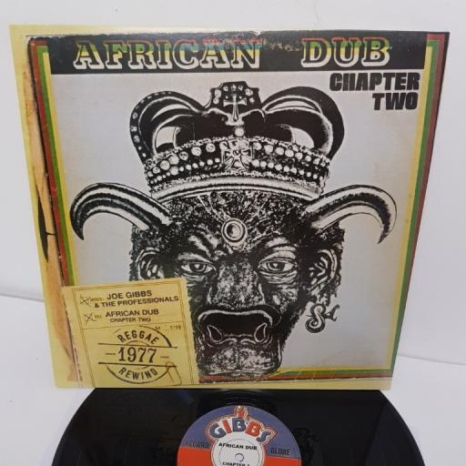"JOE GIBBS & THE PROFESSIONALS, african dub - all mighty - chapter two, JGLP200, 12"" LP"