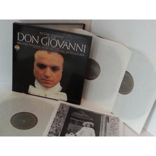 MOZART, LORIN MAAZEL don giovanni, 3 x vinyl boxset and libretto, 79321