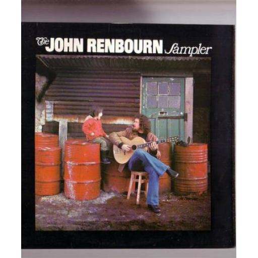 John Renbourn THE JOHN RENBOURN SAMPLER. First UK stereo pressing on the white purple Transatlantic label, 1971