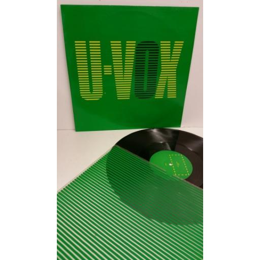 SOLD : ULTRAVOX all fall down, 12 inch single, UVX5