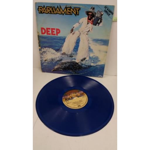 PARLIAMENT deep, 12 inch single, blue vinyl, CANL 154