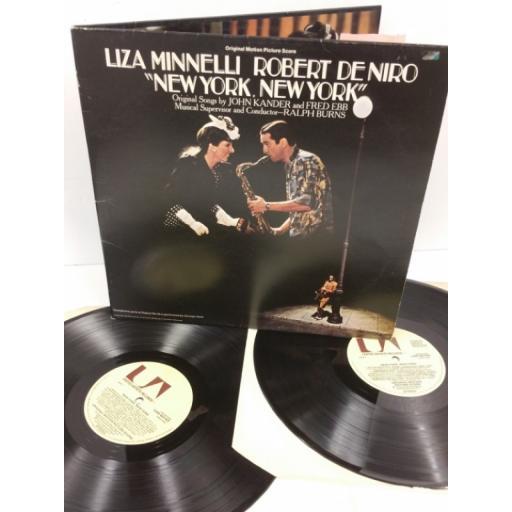 LIZA MINNELLI & ROBERT DE NIRO new york, new york (original motion picture score), gatefold, 2 x lp, UAD 60143/44