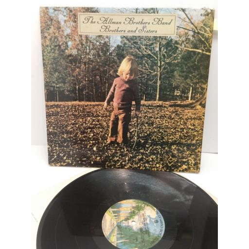 THE ALLMAN BROTHERS BAND brothers and sisters, WS 0394
