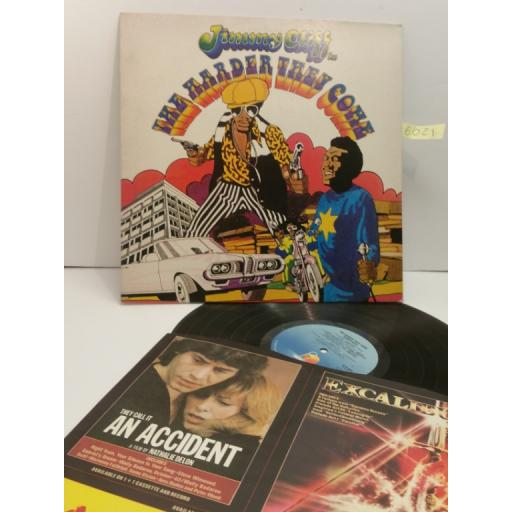 JIMMY CLIFF, the harder they come, original soundtrack recording, ILPS 9202
