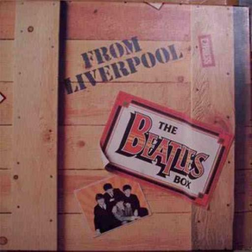 THE BEATLES, from liverpool - the beatles box