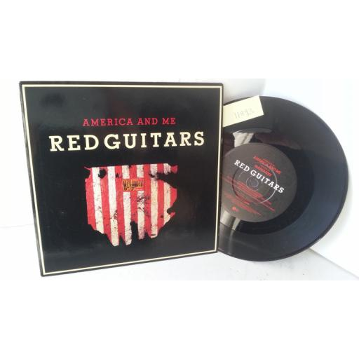 RED GUITARS america and me, 7 inch single, VS 858