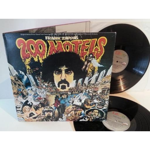 OUT OF STOCK Frank Zappa 200 MOTELS