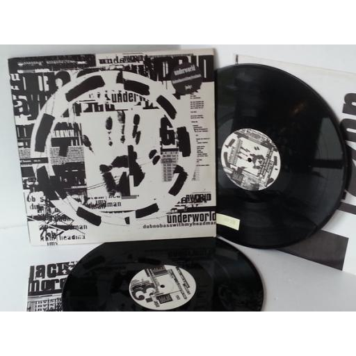 SOLD UNDERWORLD dubnobasswithmyheadman, double album, jbo LP1