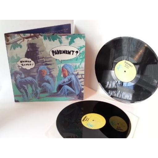 PAVEMENT woweezowee, gatefold, double album
