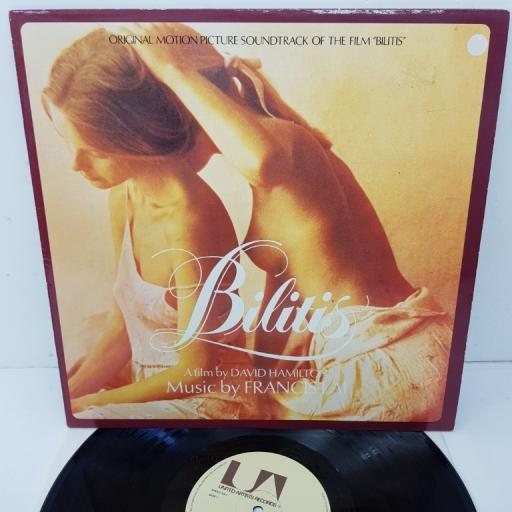 "FRANCIS LAI, bilitis (original motion picture soundtrack), UAS 30161, 13"" LP"