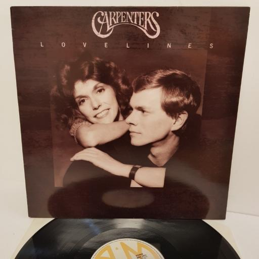 "CARPENTERS, lovelines, AMA 3931, 12"" LP"
