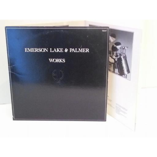 Emerson Lake & Palmer WORKS, trifold
