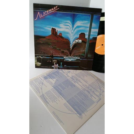 "AL STEWART time passages, 12"" vinyl LP. PL 25173"