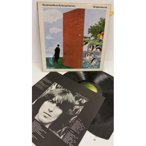 GEORGE HARRISON wonderwall music, picture insert, SAPCOR 1
