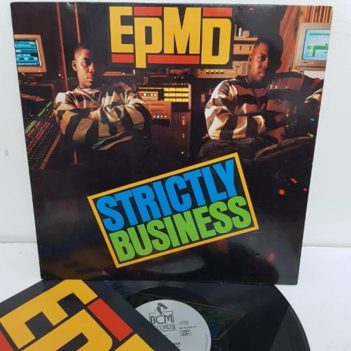 "EPMD, strictly business, B.C. 33-2125-43, 12"" LP"