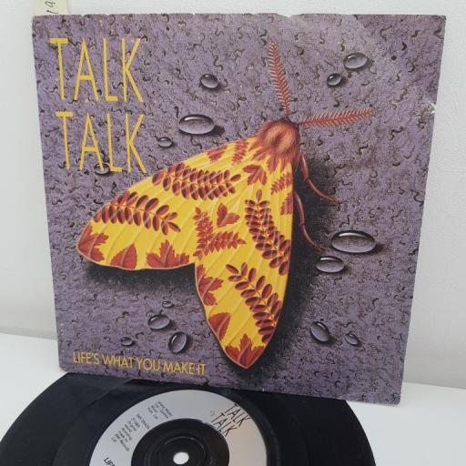 """TALK TALK, life's what you make it, B side it's getting late in the evening, EMI 5540, 7"""" single"""